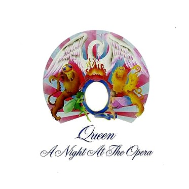 queen - night at the opera - cover