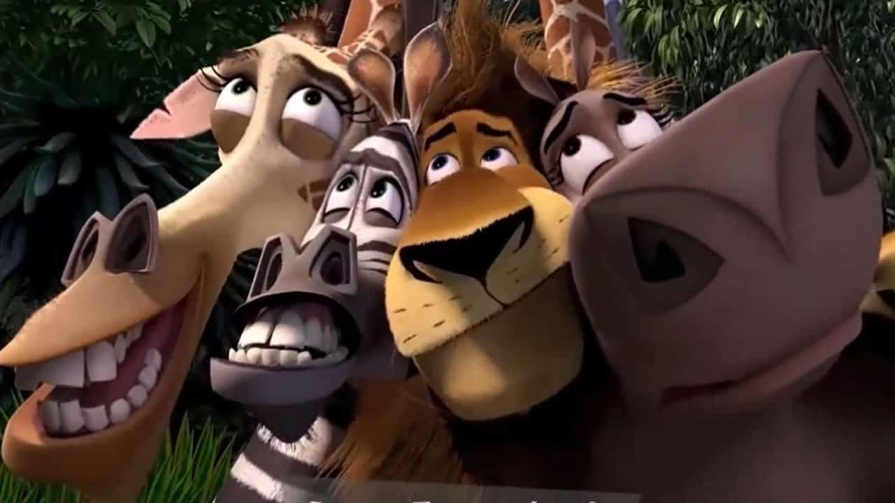 Tubes en cartoons Madagascar 2